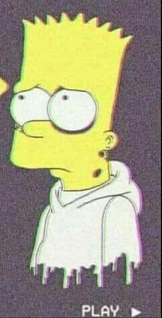 The Simpsons - Bart Mood Wallpaper, Couple Wallpaper, Wallpaper Backgrounds, Simpson Wallpaper Iphone, Cartoon Wallpaper, Iphone Wallpaper, Simpsons Drawings, Simpsons Art, Bart E Lisa