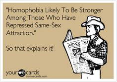 Homophobia study has (not so) surprising conclusion.