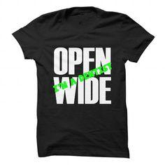 Open Wide, Im A Dentist - #sweatshirt girl #maroon sweater. BEST BUY => https://www.sunfrog.com/Jobs/Open-Wide-Im-A-Dentist.html?68278