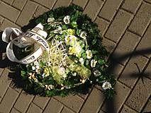 Smútočné srdiečko-len na ukazku / anad333 - SAShE.sk - Handmade Dekorácie