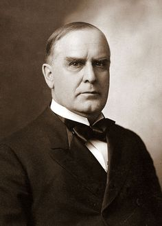 William McKinley  Was the 25th president of the United States, serving from March 4th, 1897, until his assassination on September 1901, six months into his second term.