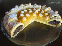 Jablkovo-makový koláč - Apple pie with poppy seeds (fotorecept) - Recept