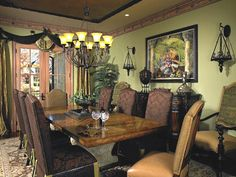 Dining room ideas on pinterest old world dining room design and
