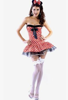 Cute minnie mouse halloween costume