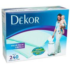 Diaper Dekor Classic Refills - Biodegradable