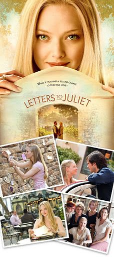 Letters to Juliet... I want the song on this movie to be playing at my wedding....