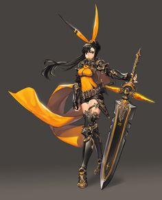 아 망 Swordmaster