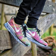 92c7b66090c1ee Nike Flyknit Air Max  Multicolor Nike Tights