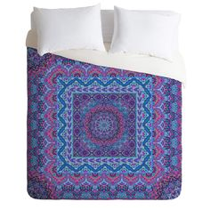 Aimee St Hill Farah Squared Duvet Cover | DENY Designs Home Accessories