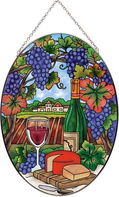 Art Panel-AP726R-Wine Country - Wine Country