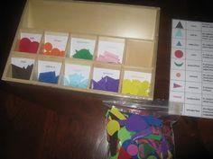 """Making Montessori Ours"": DIY Grammar Symbols Box"