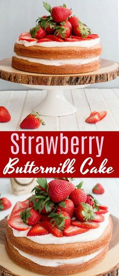 Bake up something beautiful this summer with a collection of berry delicious new recipes from Sugar In The Raw Organic White®️️, including this one for Strawberry Buttermilk Cake! Get the full recipe, see additional details and enter to #win a sweet @intherawbrand prize pack of your own! #InTheRaw #sponsored