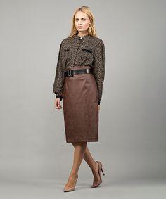 Φούστα Στενή Γραμμή Δέρμα   Vaya Fashion Boutique Normcore, Women's Skirts, Style, Fashion, Swag, Moda, Fashion Styles, Fashion Illustrations, Outfits