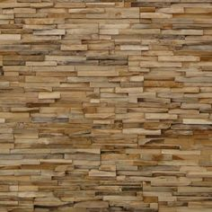 Pared recubierta de madera
