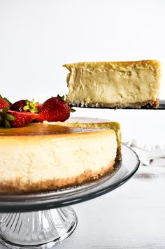 This is the creamiest, thickest cheesecake you'll ever try. And best of all, it's dairy free!