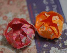 DIY ♥Origami Lotus Flower♥(tutorial)