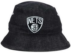 info for 3abb4 f04e7 NBA Brooklyn Nets All Denim Bucket Hats Fisherman Caps