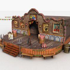max theatre - Theatre Stage by Litarvan