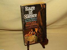 Rage in Silence Life of Goya by Donald Braider Berkley Medallion N1919 1969 PB