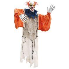 5' Creepy Halloween Hanging Clown