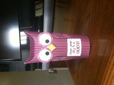 """My take on the """"toilet paper roll"""" owl"""