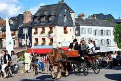 Honfleur, Calvados Normandy - FRANCE Paris Travel, France Travel, Normandy France, Tourism, Cruise, Street View, River, City, Places