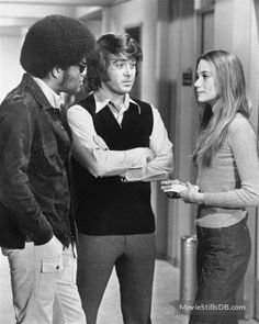 The Mod Squad - Publicity still of Peggy Lipton, Clarence Williams Iii & Michael Cole