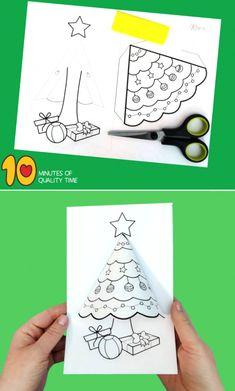Preschool Christmas, Christmas Crafts For Kids, Christmas Printables, Christmas Projects, Winter Christmas, Kids Christmas, Holiday Crafts, Christmas Bells, Simple Christmas