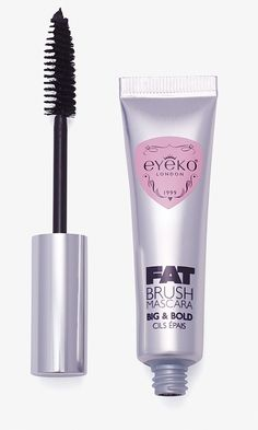 Mascara leaves lashes soft so they don't clump, crumble or flake