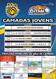 ACR: Futsal [formação] > 12 e 13 Abr 2014  #ValeDeCambra #futsal