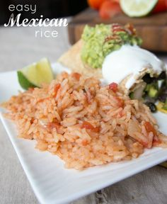 Easy Mexican Rice. Tried and true recipe that ALWAYS delivers amazing results!