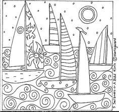 Rug Hook Paper Pattern 5...