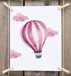 hot air balloon nursery hot air balloon by PrintableLifeStyle