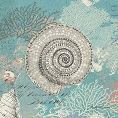 - #Illustration #Ilustración #Sea #mar #marino #océano #náutico #Ocean #Nautic #Art #Beach #Playa #SeaLife #SeaPrint #Coastal #Coast #WhiteSand #Seaside #Aqua #Summer #Shore #SaltyAir