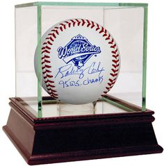 Bobby Cox Signed 1995 WS Baseball w/'95 WS Champs' Insc.