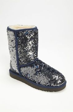 Uggs and sparkle - my favorites!