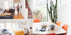 How two artists well-versed in colour and composition made a ramshackle home picture-perfect, Designlines Magazine Roller Blinds, Home Pictures, Design Projects, Composition, Curtains, Artists, Colour, Magazine, Table Decorations