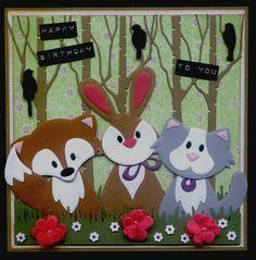 (EK) Dieren in het bos!! HB to you!!