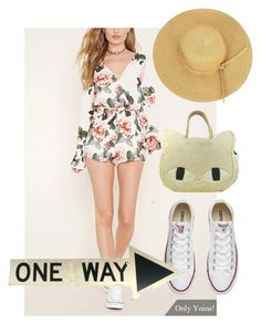 """hat"" by masayuki4499 on Polyvore featuring Converse"