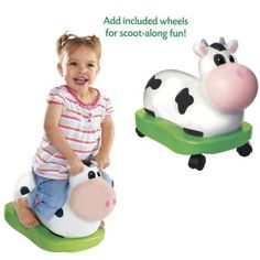 Ride on Cow for my cowgirl : )