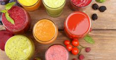 8 sucos funcionais | <i>Crédito: Shutterstock