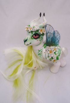 My little pony custom Dia de Muertos Yamanik by AmbarJulieta.deviantart.com on @DeviantArt