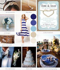 nautical wedding ideas | Nautical wedding inspiration board
