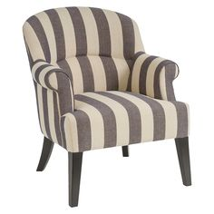 Christopher Knight Home Upholstered Chair - Grey/Beige