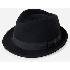 got one almost identical for like  17 Bailey Hats Bailey Wynn Felt Crushable  Trilby Hat - Black ( 72) found on Polyvore ca8bdf71aa6c