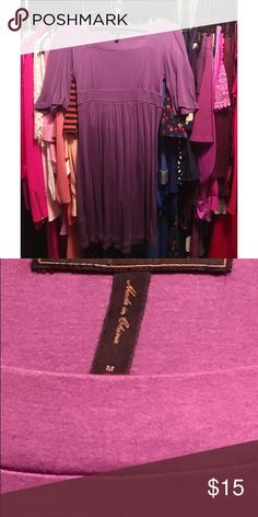 BCBGMaxAzria dress | Size Medium BCBGMaxAzria dress | Size Medium >>purple, pre-loved but in good condition. Super cute! BCBGMaxAzria Dresses Mini