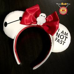 Hey, I found this really awesome Etsy listing at https://www.etsy.com/listing/454091656/baymax-embroidered-mickey-ears-with