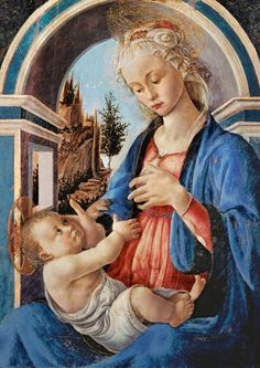 Sandro Botticelli - The virgin with the child