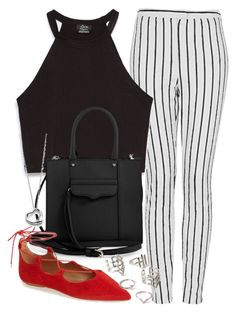 """""""Untitled #1561"""" by briarachele ❤ liked on Polyvore featuring Topshop, Zara, Rebecca Minkoff, Elsa Peretti and Forever 21"""