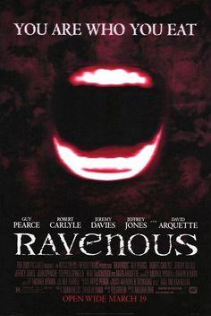 Ravenous - weird, creepy, disturbing